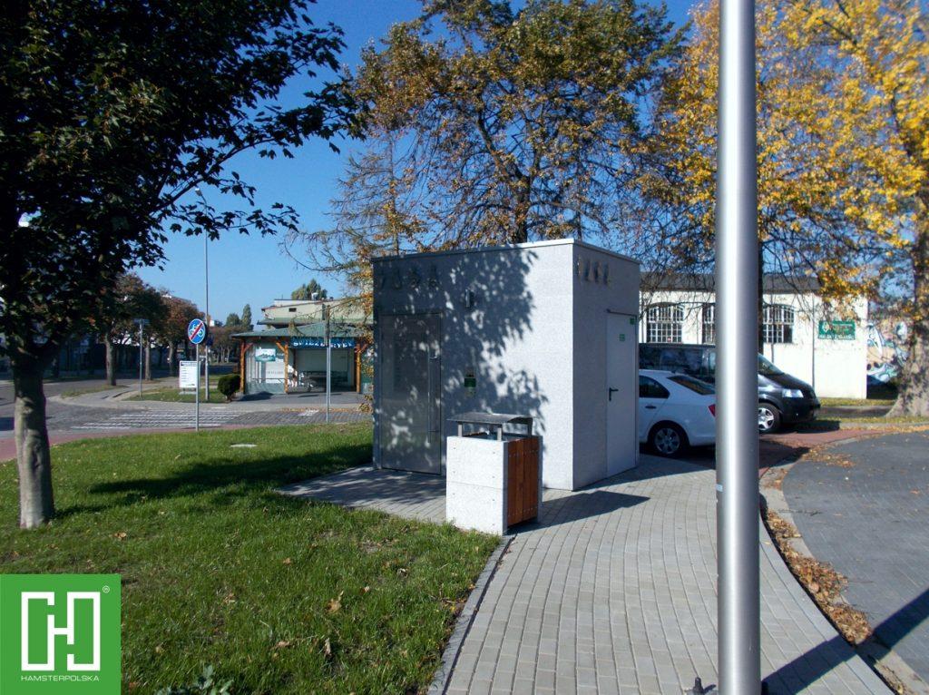 Automatyczna toaleta publiczna Papilio Uno Granit Szary w Kołobrzegu