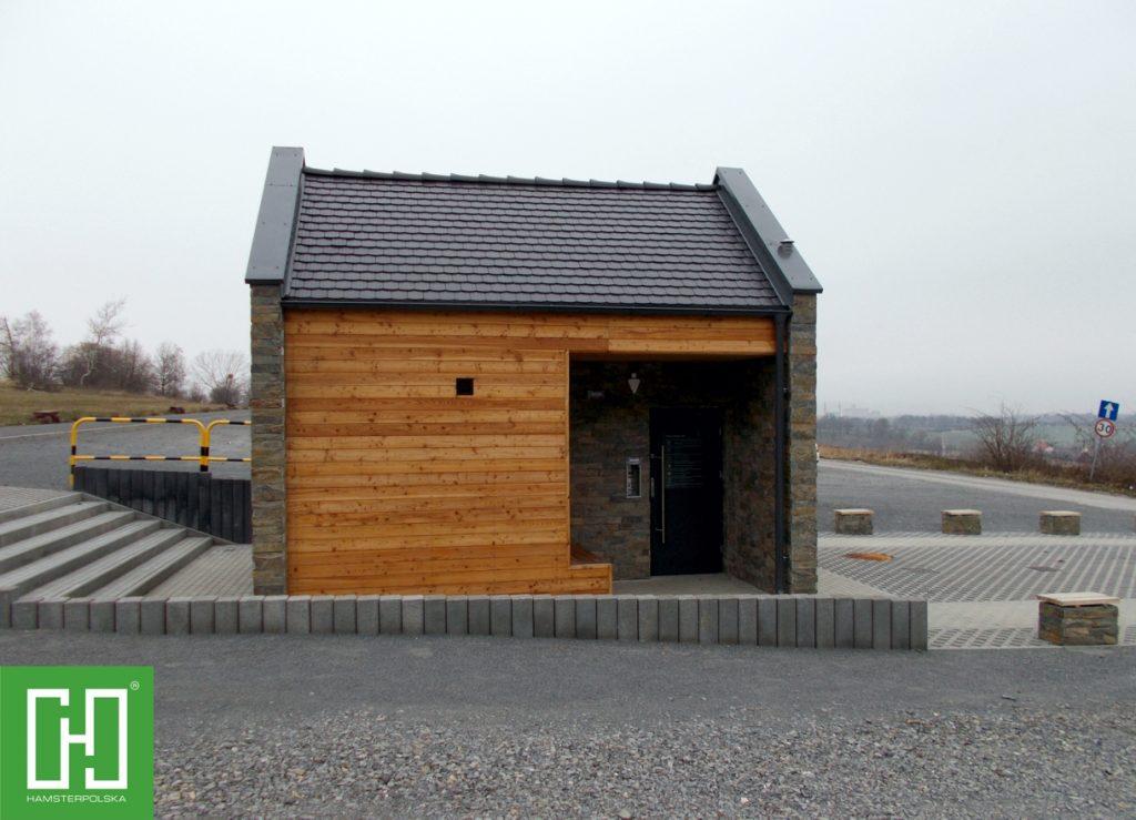 Automatyczna toaleta publiczna Papilio Uno Primo w Prudniku