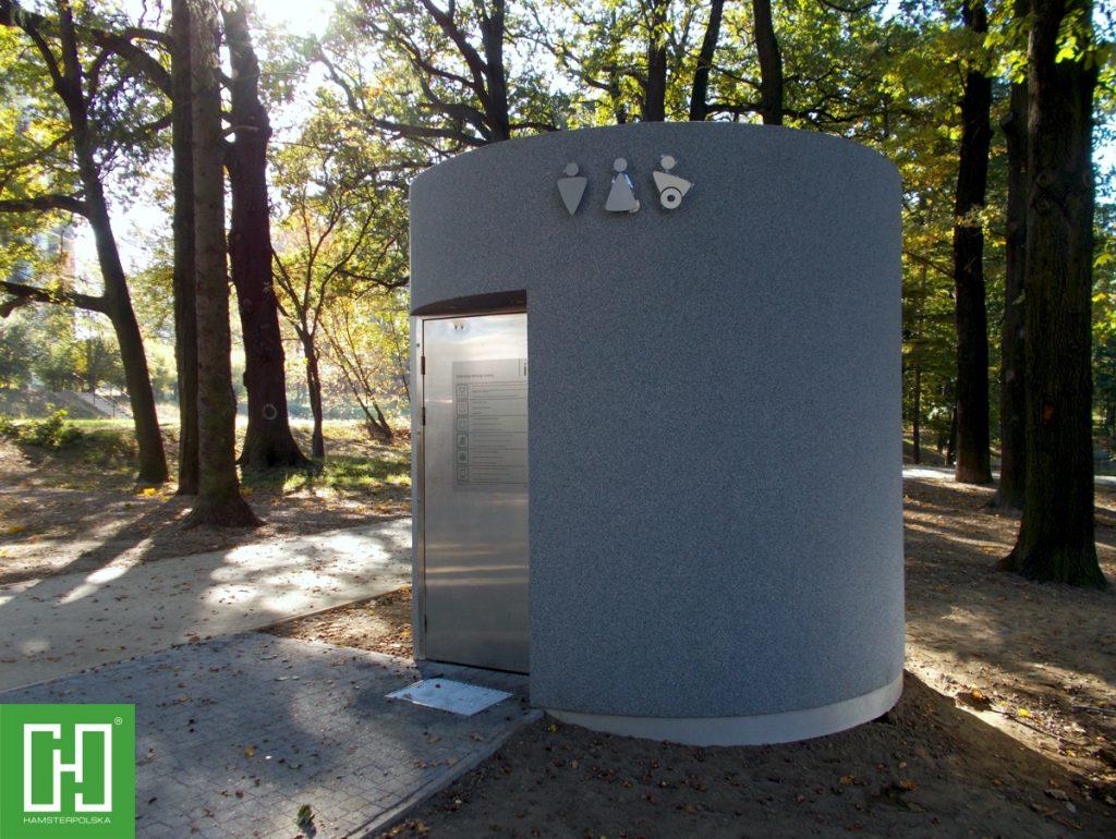 Automatyczna toaleta publiczna Pegasus Struktura w Zgorzelcu