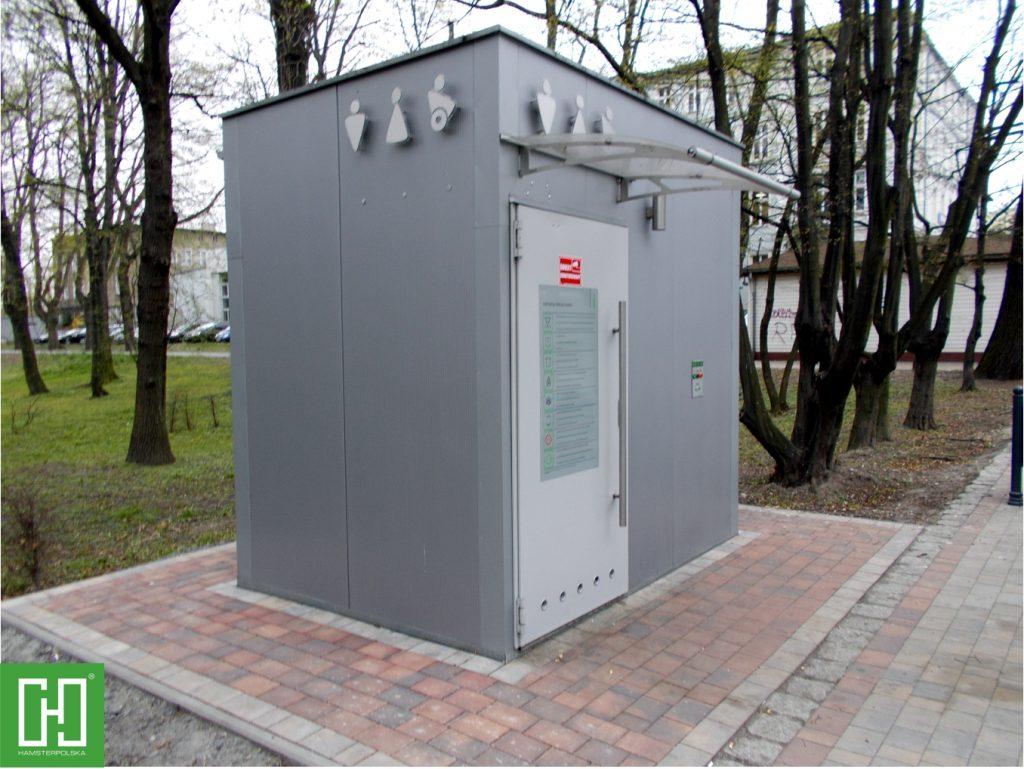 Automatyczna toaleta publiczna Papilio UNO Primo w Głubczycach