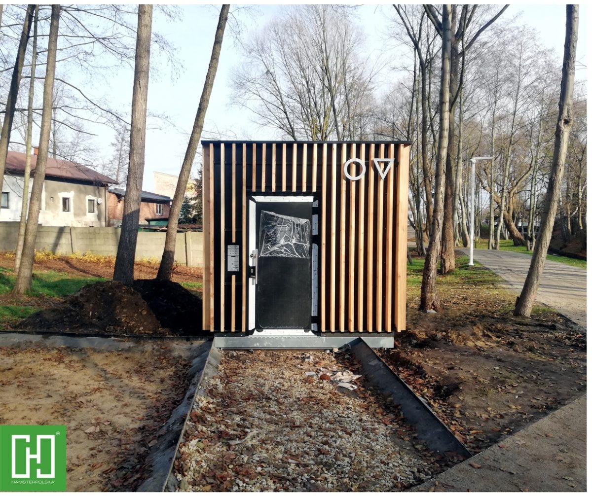 Automatyczna toaleta publiczna Papilio UNO Primo w Lublińcu