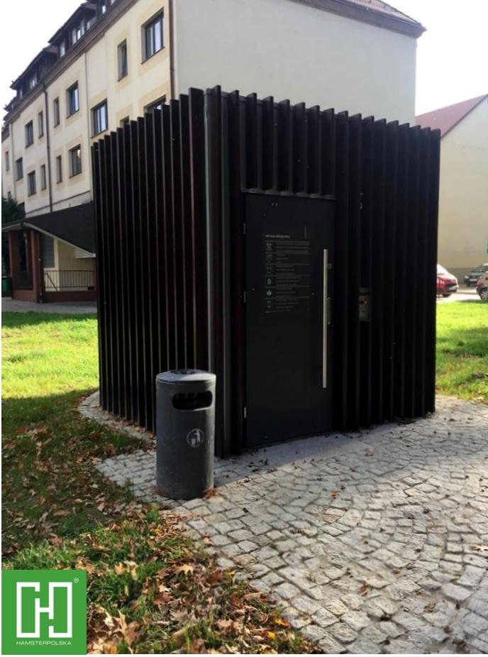 Automatyczna toaleta publiczna Papilio UNO Primo w Paczkowie