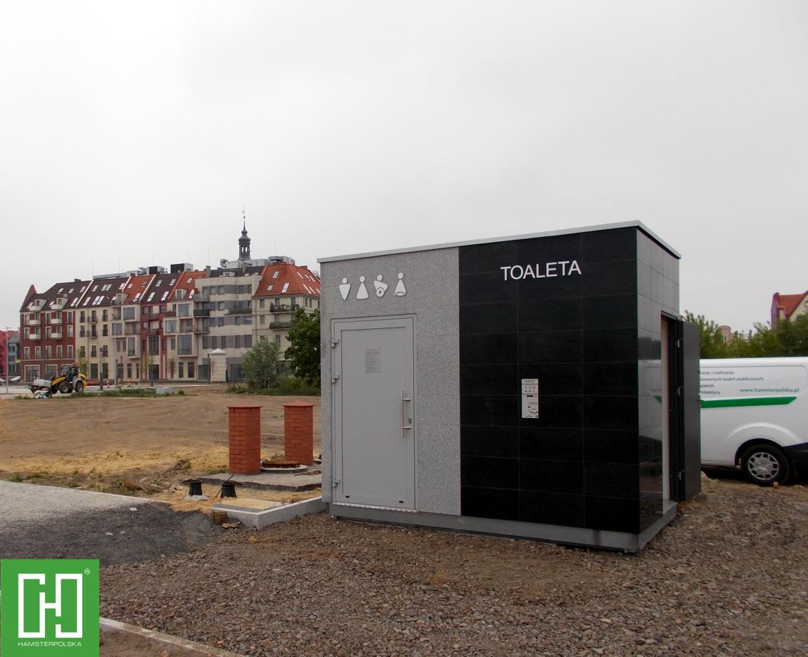 Automatyczna toaleta publiczna Papilio UNO Granit Szary w Głogowie