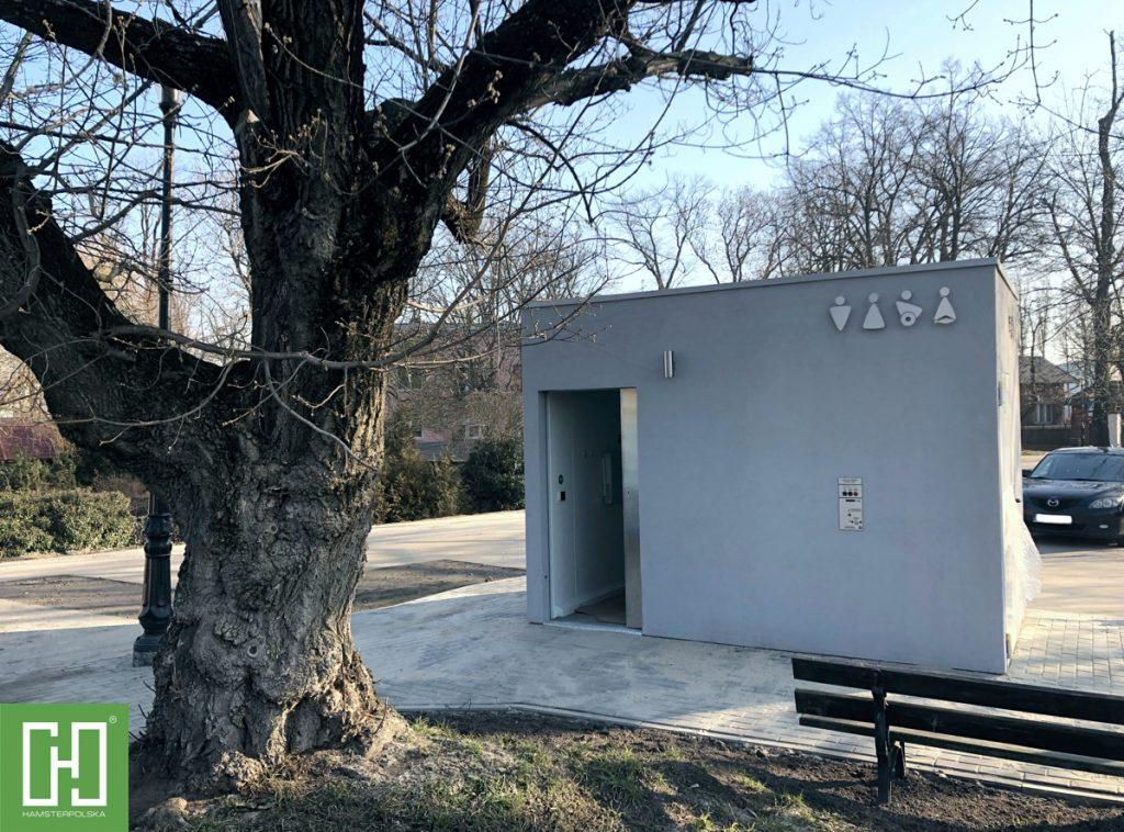 Automatyczna toaleta publiczna Phoenix Uno Struktura w Opolu