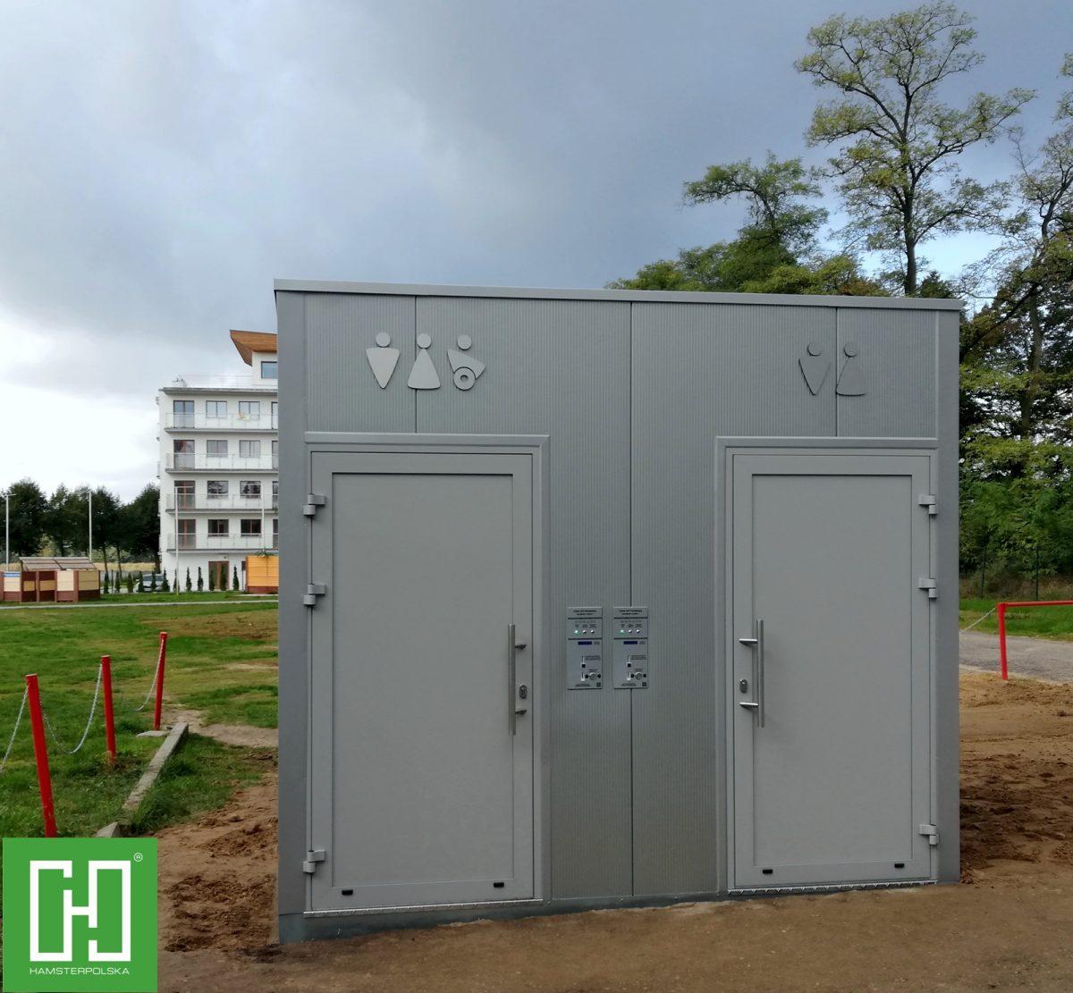 Automatyczna toaleta publiczna Papilio Duo Primo w Margoninie