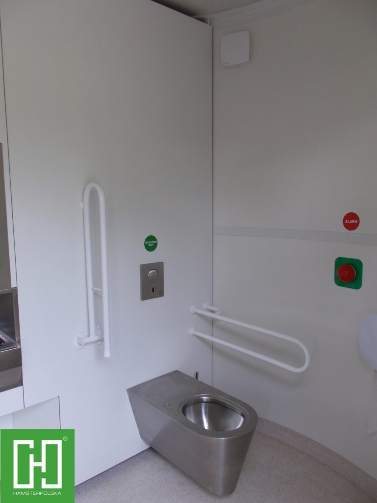 Automatyczna toaleta publiczna Pegasus UNO Struktura w Nowym Tomyślu